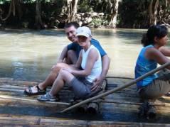 Us on the raft