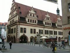 Het oude stadhuis