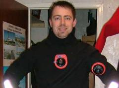First time in my new dry suit, this is really warm!