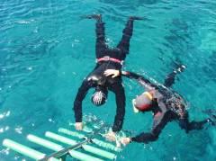 Static apnea (time diving 90 seconds)